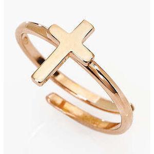 Amen Elegantní prsten s křížkem Croce AFCR