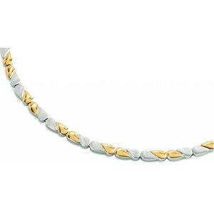 Boccia Titanium Luxusní titanový náhrdelník 08013-02
