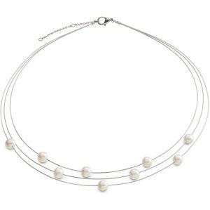 Boccia Titanium Nádherný perlový náhrdelník 08041-01