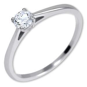 Brilio Silver Stříbrný zásnubní prsten 426 001 00539 04 56 mm