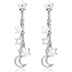 Brosway Hvězdičkové náušnice s krystaly Chant BAH23