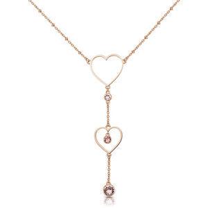 Brosway Srdíčkový ocelový náhrdelník Sight BGH02