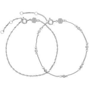 Cluse Sada stříbrných náramků CLJ12019