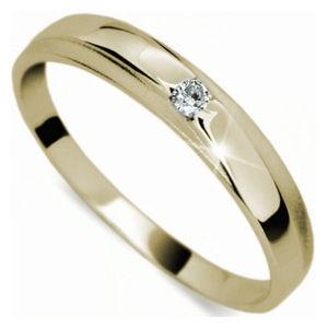 Danfil Jemný diamantový prsten DF1617z 59 mm