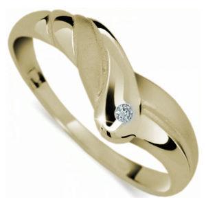 Danfil Originální prsten s diamantem DF1841z 53 mm