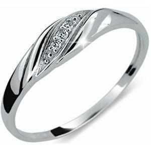 Danfil Jemný diamantový prsten DF2084b 55 mm