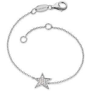 Engelsrufer Stříbrný náramek Hvězda se zirkony ERB-LILSTAR-ZI