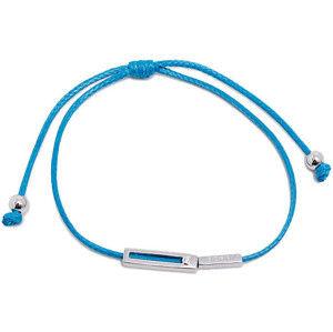 Esprit Modrý šňůrkový náramek Mini ESBR00741421