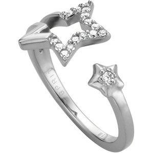 Esprit Stříbrný prsten s hvězdičkami Vivid Star ESRG004511 53 mm