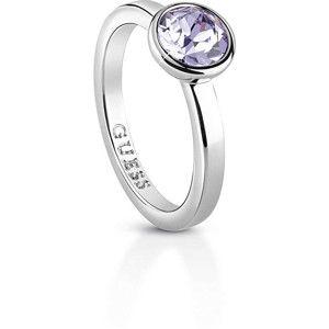 Guess Dámský prsten s krystalem UBR83023 50 mm