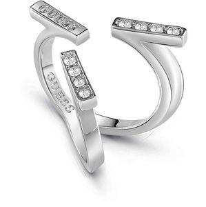 Guess Elegantní prsten s krystaly UBR85046 56 mm