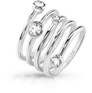 Guess Luxusní spirálovitý prsten UBR84055 52 mm