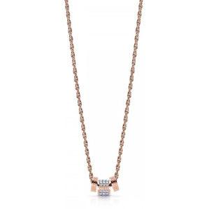Guess Módní bronzový náhrdelník UBN78093