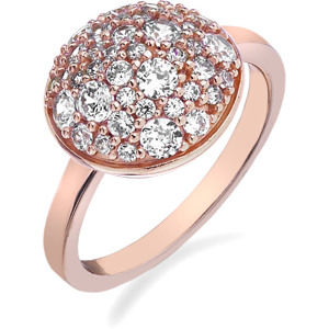 Hot Diamonds Prsten Emozioni Laghetto Bouquet Rose Gold ER012 55 mm