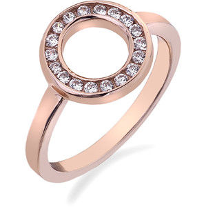 Hot Diamonds Prsten Emozioni Saturno Rose Gold ER002 55 mm