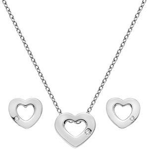 Hot Diamonds Sada stříbrných šperků Amulets SS136