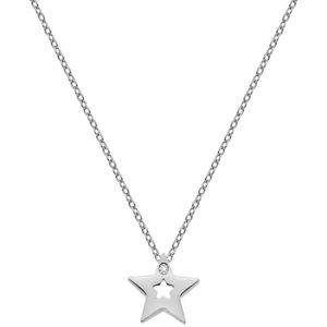 Hot Diamonds Stříbrný náhrdelník s hvězdičkou Amulets DP722