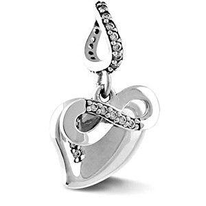 Infinity Love Stříbrný přívěsek Nekonečná láska HSD-1640-D