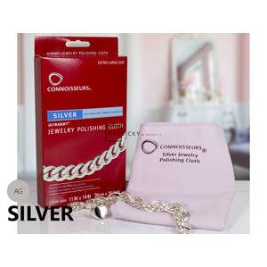 JK Box Čistící utěrka pro stříbrné šperky CONNOISSEURS CN-1031/AG