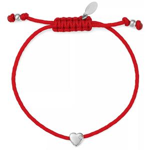 JVD Červený kabala náramek se srdíčkem SVLB0183XH20000