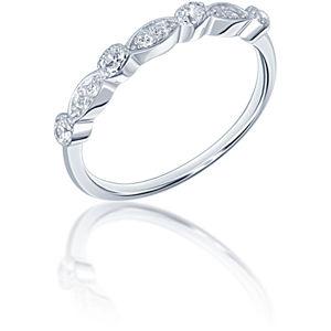JVD Elegantní stříbrný prsten SVLR0343XF3BI 55 mm