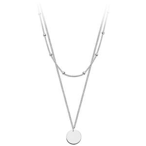 JVD Stříbrný dvojitý náhrdelník SVLN0178XH20050