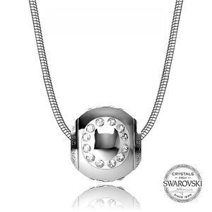 Levien Ocelový náhrdelník písmeno O CLET-O