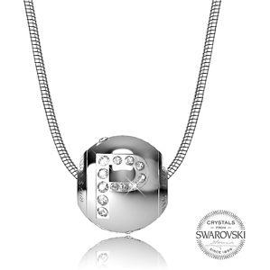 Levien Ocelový náhrdelník písmeno P CLET-P
