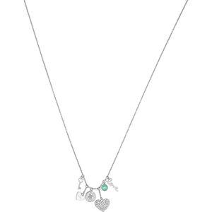 Liu.Jo Ocelový náhrdelník s přívěsky LJ1418