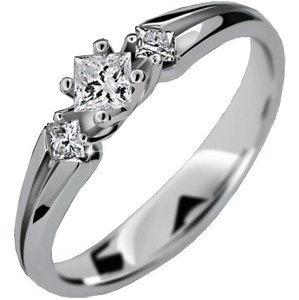 Danfil Luxusní zásnubní prsten DLR2105b 53 mm