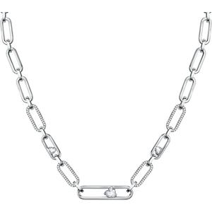 Morellato Moderní ocelový náhrdelník 1930 SATP01