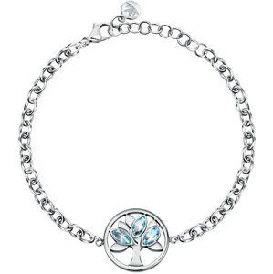 Morellato Půvabný ocelový náramek s krystaly Strom života Vita SAUD04