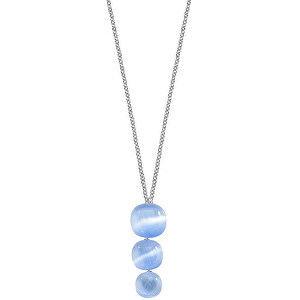 Morellato Stříbrný náhrdelník zdobený kočičím okem SAKK20 (řetízek, přívěsek)