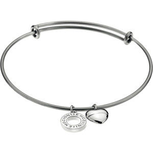 Hot Diamonds náramek Emozioni Silver Bangle DC107
