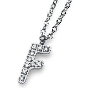 Oliver Weber Stylový náhrdelník Initial F 11835
