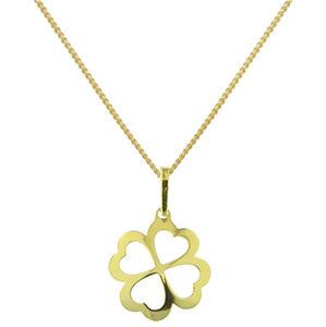 Praqia Designový pozlacený náhrdelník More KO6263_CU035_45_A (řetízek, přívěsek)