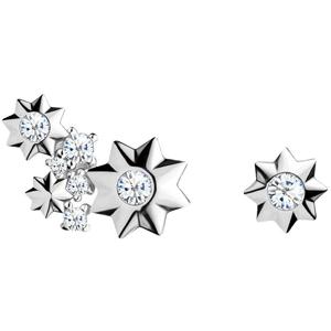 Preciosa Asymetrické hvězdičkové náušnice Orion 5274 00P