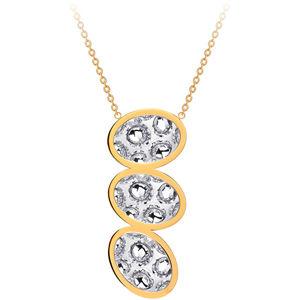 Preciosa Dlouhý ocelový náhrdelník s třpytivým přívěskem Idared 7365Y00