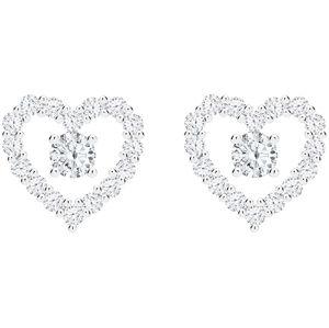Preciosa Romantické stříbrné náušnice First Love s kubickou zirkonií Preciosa 5303 00