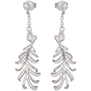 Preciosa Stříbrné náušnice s krystaly Joy 5189 00