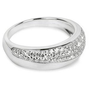 Silver Cat Stříbrný prsten se zirkony SC218 56 mm