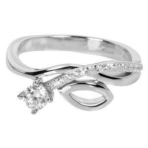 Silver Cat Stříbrný prsten se zirkony SC233 56 mm