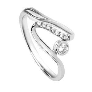 Silver Cat Stříbrný prsten se zirkony SC320 56 mm