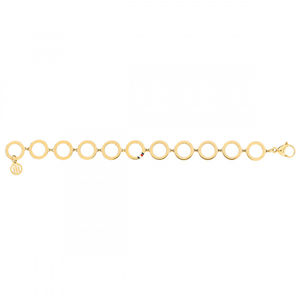 Tommy Hilfiger Elegantní pozlacený ocelový náramek TH2780312