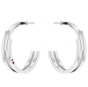 Tommy Hilfiger Moderní ocelové náušnice kruhy TH2780387