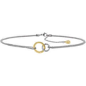 Tommy Hilfiger Ocelový náhrdelník se spojenými kruhy TH2780015