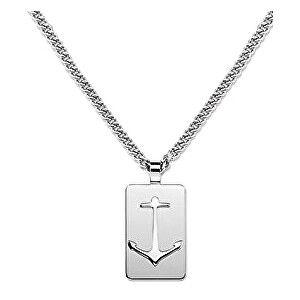 Tommy Hilfiger Ocelový pánský náhrdelník s přívěskem TH2700959