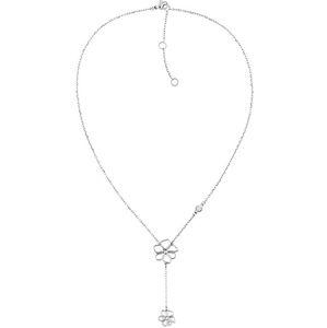 Tommy Hilfiger Půvabný květinový náhrdelník z oceli TH2780367