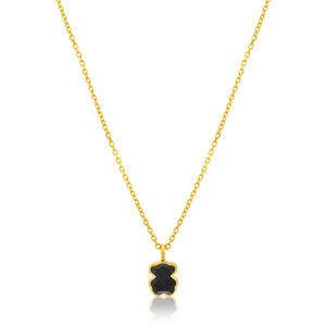 Tous Pozlacený náhrdelník s medvídkem 115434542 (řetízek, přívěsek)