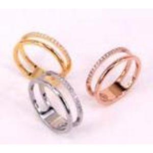 Troli Dvojitý minimalistický prsten z oceli Silver 56 mm